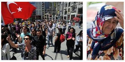 People in Turkey