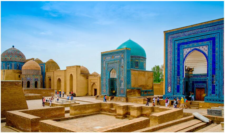 Before the trip to Uzbekistan