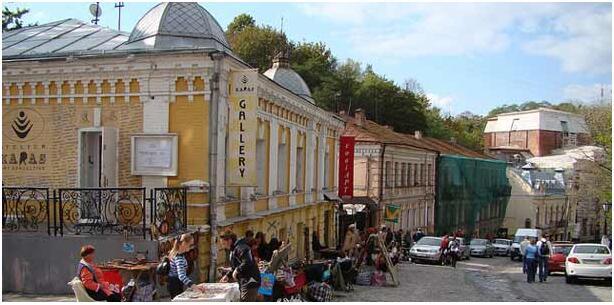 KIEV AS A DESTINATION