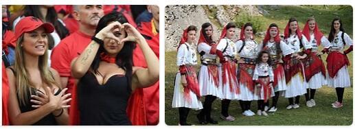 People in Albania