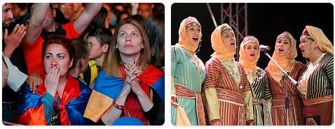 People in Armenia