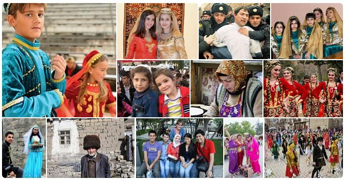 People in Azerbaijan