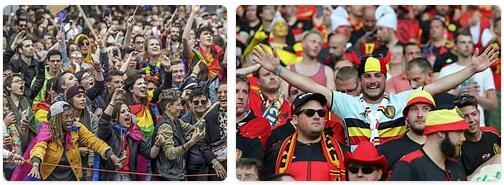 People in Belgium