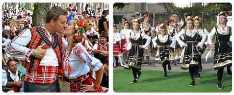 People in Bulgaria