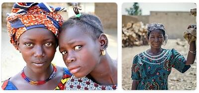 People in Burkina Faso