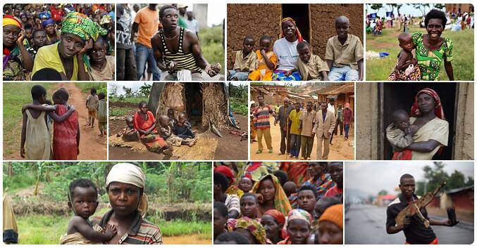 People in Burundi