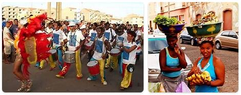 People in Cabo Verde