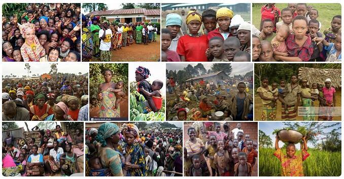 People in Democratic Republic of The Congo