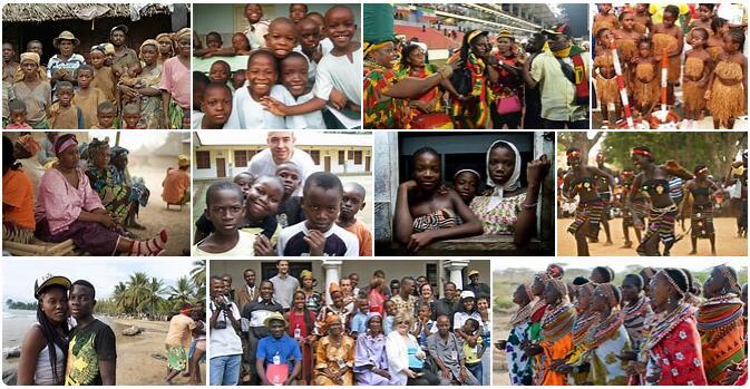 People in Equatorial Guinea