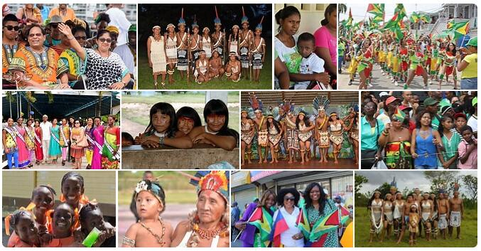 People in Guyana