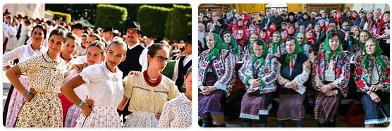 People in Hungary