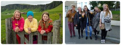 People in Iceland
