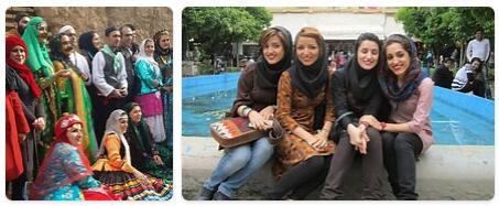 People in Iran