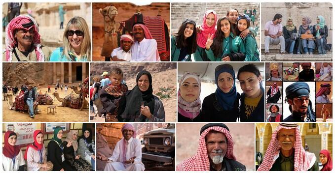 People in Jordan