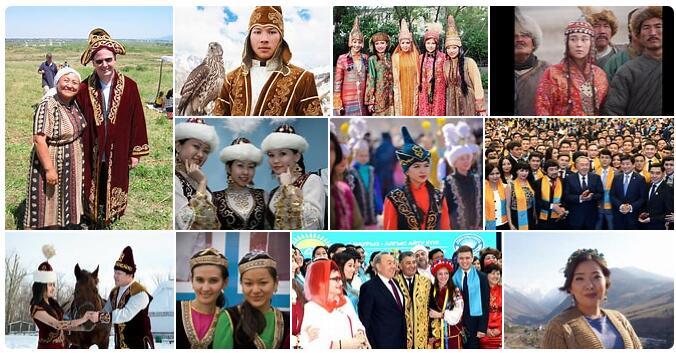 People in Kazakhstan