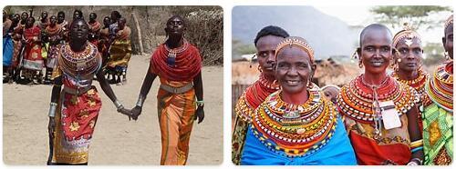 People in Kenya