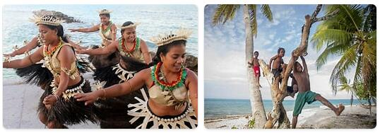 People in Kiribati
