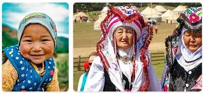 People in Kyrgyzstan
