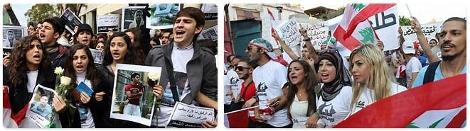 People in Lebanon