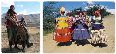 People in Lesotho
