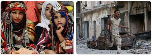 People in Libya