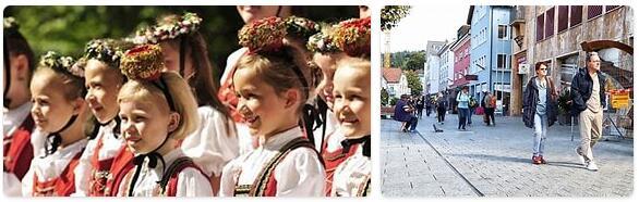 People in Liechtenstein