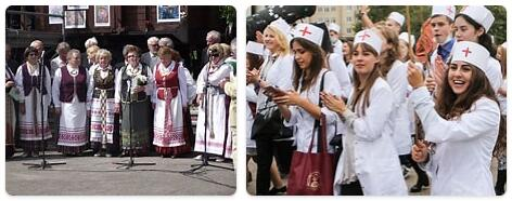 People in Lithuania