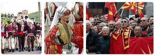 People in Macedonia