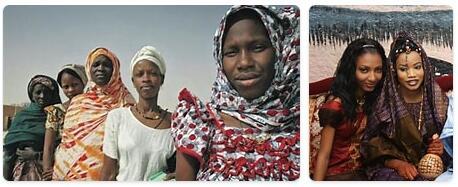 People in Mauritania
