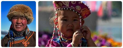 People in Mongolia