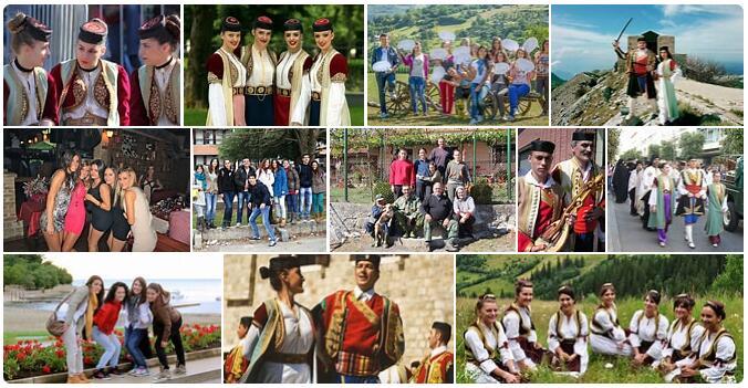 People in Montenegro
