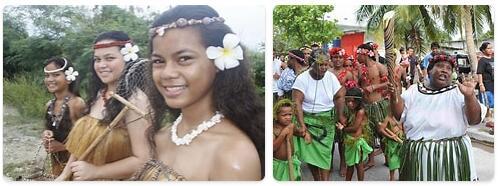 People in Nauru