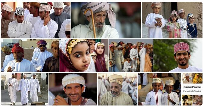 People in Oman
