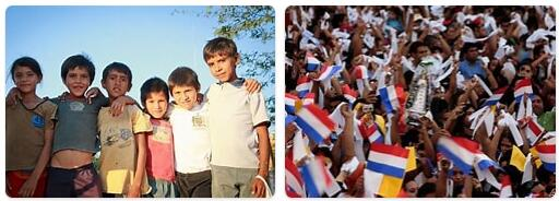 People in Paraguay