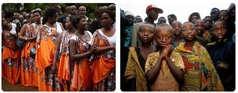 People in Rwanda