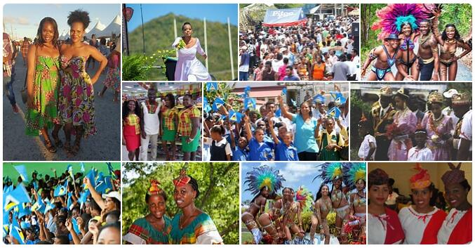 People in Saint Lucia