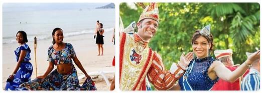 People in Seychelles