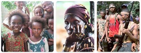 People in Sierra Leone