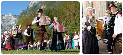 People in Slovenia