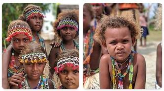 People in Solomon Islands