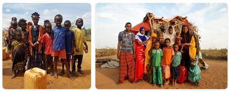 People in Somalia