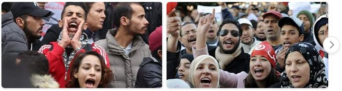 People in Tunisia