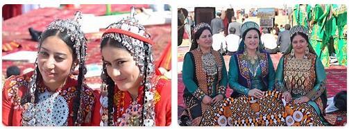 People in Turkmenistan