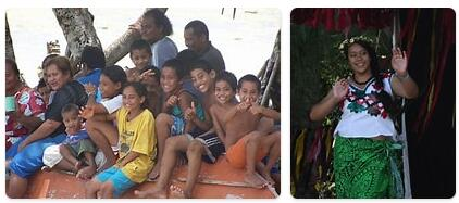 People in Tuvalu