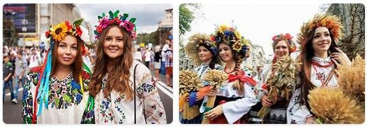 People in Ukraine