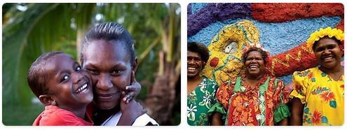 People in Vanuatu