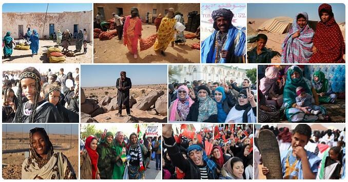 People in Western Sahara