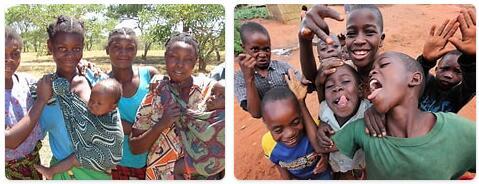 People in Zambia