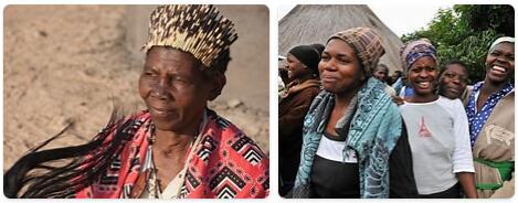 People in Zimbabwe