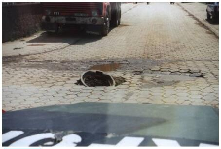 Kosovo Road damage